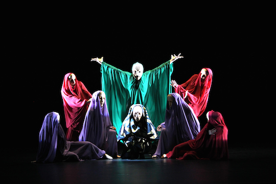 Header Image RECONSTRUCTIONS OF MARY WIGMAN'S TOTENTÄNZE (DANCES OF DEATH)